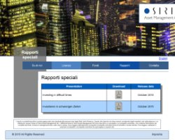 Osiris Asset Management AG - Italienische Version