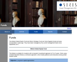 Osiris Asset Management AG - Funds